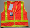 2014 Ladies le plus chaud Fitted Reflective Safety Vest (yj-102205)