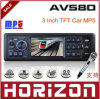 AOVEISE AV580 MP5 Audio Car MP3/MP4/MP5 con mando a distancia, Soporte VOB / DAT / MPG / Formato de archivo JPG y Acd Scan