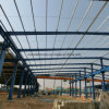 La structure métallique a jeté pour l'ensemble industriel