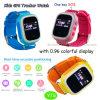 Lbs+GPS+WiFiの三倍の位置の熱い子供GPSの追跡者の腕時計(Y7S)