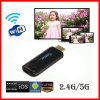 Коробка TV ручки TV Android Miracast Dongle Ezcast 5g франтовская