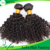 Saleのための深いCurly Virgin RemyインドのHuman Hair Weft