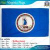 bandierine della Virginia del poliestere di 90X150cm S.U.A. (NF01F03106)