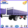 Semi Aanhangwagen van uitstekende kwaliteit van de Vrachtwagen van de Lading van de Zijgevel 2axles/8tires de Volledige aan Redelijke Prijs