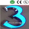 Segni acrilici illuminati LED della lettera della Manica di alta qualità