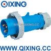 Водоустойчивый AC 220-240V 16A AMP гнезда штепсельной вилки IEC 2p+E промышленный