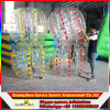 La bola de parachoques inflable humana colorida de 1.5 diámetros de la alta calidad tasa el fútbol de la burbuja para la diversión de los adultos