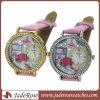 Новое Design Ladies Watch Luxury Diamond с Leather Strap