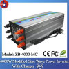 4000W 24V DCへのChargerの110V/220V AC Modified Sine Wave Power Inverter