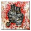 China moderna decoración casera antigüedad del diseño Pintura Botella