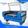 CER-anerkannte CO2 Laser-Ausschnitt-Gravierfräsmaschine für hölzerne Acrylglas-Flaschen-ledernes Gummituch