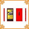 teléfono móvil androide N920 de la pantalla táctil 4.3inch una SIM WiFi