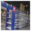 Quente ou Cold Galvanized Poultry Farming Equipment Bird chinês Cages Laying Hens