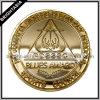 Золотистая коммеморативная монетка для совета спорта школы (BYH-10564)