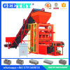 Equipamento moldando do bloco pequeno das indústrias Qtj4-26