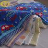 Flanelle imprimée teinte par coton de comité technique pour le bébé, pyjamas