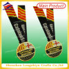 Britannici BRITANNICI Soccer Unique Metal Medal Sports Gold Medallion con Ribbon (LZY-00020130032)
