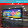 인도 Airport에 있는 Scroller Media Scrolling LED Light Box