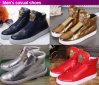 Sapatas superiores elevadas para homens, sapatas lisas do desenhador do tipo do estilo o mais atrasado (S101)