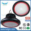 Nuevos 200W impermeabilizan luz redonda de la bahía del UFO LED de la fábrica la alta para el almacén