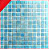 Mosaico azul del vidrio de la piscina del estándar europeo 25*25