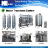 Terminar el sistema del filtro del agua de manatial de la montaña
