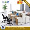 Compartiment gai de bureau de poste de travail de portées des meubles de bureau 4 (HX-PT14029)