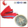 Medaille van het Metaal van de Douane van de Legering van het zink de Materiële met de Doos van de Medaille van het Fluweel