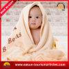 Livrar brandamente o cobertor de confeção de malhas do bebê dos testes padrões