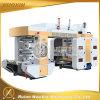 PE/HDPE/LDPE/OPP Flexographic Machine van de Druk 6 Kleur