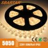 Indicatore luminoso di striscia di fabbricazione LED del cinese SMD 5050/3528/2835/5730 110V-220V per la decorazione