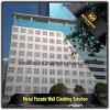 Los paneles de pared perforada exteriores del aluminio para el edificio acortan las paredes