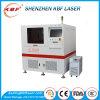 Máquina de estaca do laser metal da elevada precisão 17W e da tubulação e da folha UV incluidos do metalóide