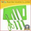 faca de cozinha do Kitchenware 5PCS ajustada com desbastamento (RYST014C)