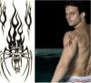 Стикер Tattoo конструкции картины спайдера водоустойчивый временно