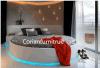 고품질 Corian 단단한 지상 호텔 방 침대 세트