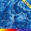 blaue Farbe polierte glasig-glänzende Marmor-Porzellan-Fußboden-Fliese des Exemplar-600X600 (WT-6C009)