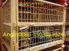Cesta resistente Stackable e Foldable do engranzamento do recipiente/fio do engranzamento de fio