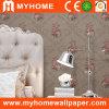 PVC imperméable à l'eau Wallpaper avec Beautiful Rose Floral