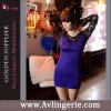 Robe de soirée chaude de lacet de femmes de mode de vente (KS09-016)