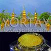 Perlas de oro de la capa del cuerpo de la torre de Bangkok Gardon