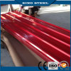 Hoja de acero acanalada galvanizada de alta calidad del material para techos de China