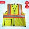 Veste reflexiva da segurança das obras da alta qualidade En20471 com bolso