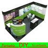 Crémaillère commode modulaire portative faite sur commande d'exposition de DIY