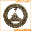 Монетка сувенира металла с краем веревочки (YB-c-055)