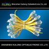perles jaunes de lampe de corde de lampe d'exposition de 9mm LED annonçant la lampe