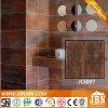 Azulejo de suelo esmaltado metálico de la pared de Porcelanto del cuarto de baño (JLS007)