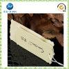 Barato crear las etiquetas de papel de la caída para requisitos particulares de la ropa del color (JP-HT004)