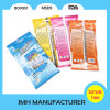 Spunlace 짠것이 아닌 물자 처분할 수 있는 유리제 청소 젖은 닦음 (MW008)