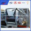 Polea de la polea del motor de accionamiento en el sistema de transportador